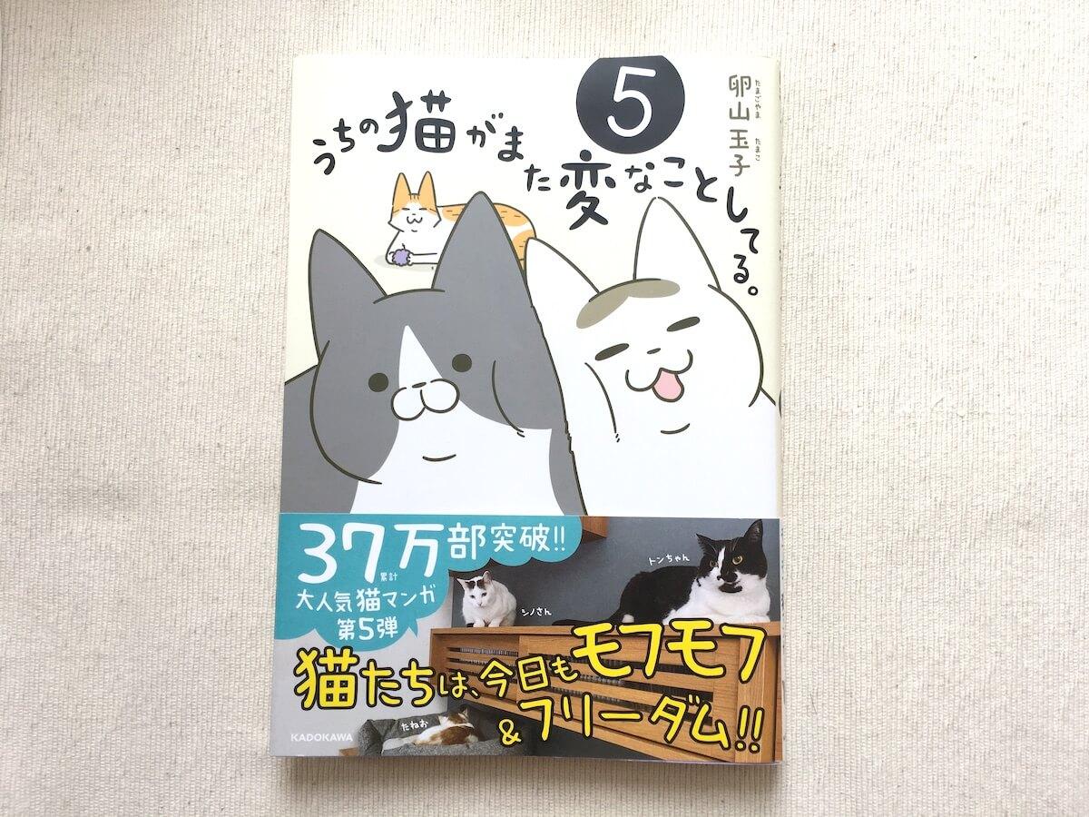 『うちの猫がまた変なことしてる』の第5巻を買いました